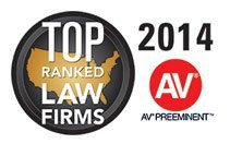 2014 AV Preeminent Top Ranked Law Firm