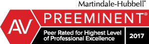 Attorney David A. Holmes Rated AV® Preeminent™ by Martindale-Hubbell®