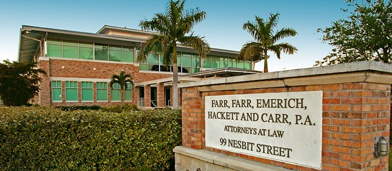 Farr Law Firm Building Punta Gorda, FL