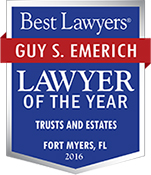 Guy S. Emerich, Lawyer of the Year by Best Lawyers, Fort Myers metro area