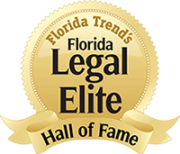 Florida Trend's Legal Elite Hall of Fame Logo