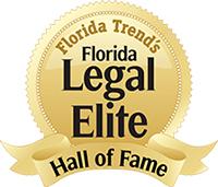 Florida Trend's Legal Elite Hall of Fame Logo