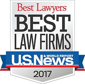 Farr Law Firm 2017 Best Law Firms List   U.S. News & World Report